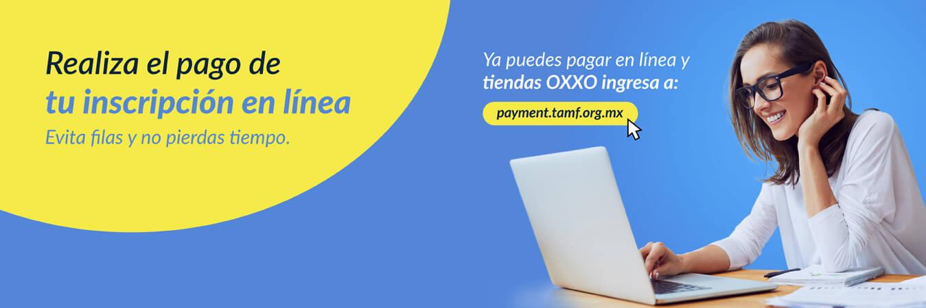 Realiza tu pago en línea