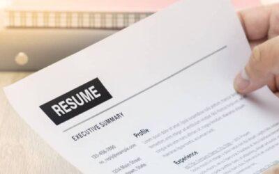 ¿Cómo hacer un CV en inglés?